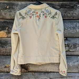 Lauren Ralph Lauren Embroidered Southwestern Coat